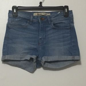 Zara TRF denim shorts